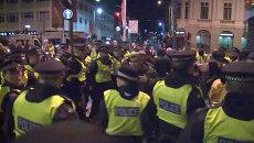 Столкновения полиции и ультраправых после теракта в Лондоне
