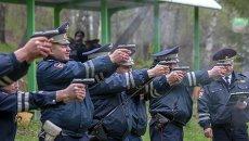 Как водят и стреляют инспекторы ДПС: соревнования в Новосибирске /