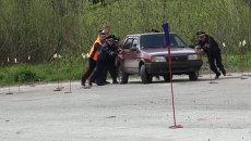 Клинит оружие, глохнет авто: как в ДПС Новосибирска лучшего выявляли