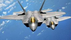 Истребитель F-22 Raptor. Архивное фото