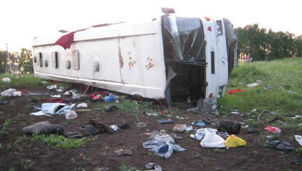 ДТП с участием автобуса в Самарской области