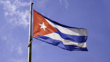 Флаг Кубы . Архивное фото