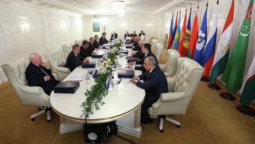 Заседание Совета глав правительств СНГ, архивное фото