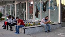 Разбитые витрины и мусор на улицах - Турция после беспорядков