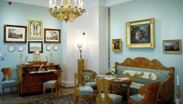 Дом-музей Василия Львовича Пушкина. Архивное фото