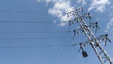 Линия электропередачи, архивное фото