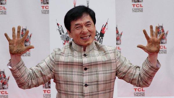 Джеки Чан. Архивное фото