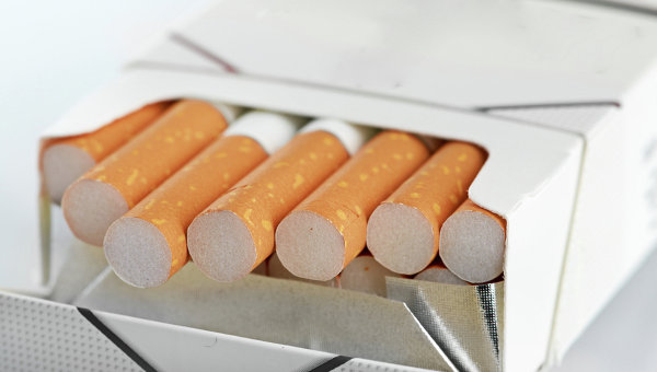 Пачка сигарет. Архивное фото.