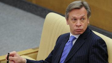 Глава международного комитета Госдумы РФ Алексей Пушков. Архивное фото