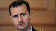 Президент Сирии Башар Асад, архивное фото