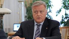Глава ОАО РЖД Владимир Якунин