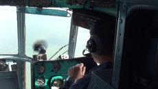 Военные поднимали в воздух трехтонные грузы и осматривали леса с Ми-8