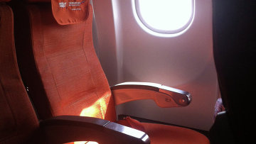 Фото пустого кресла 17 А, где должен был лететь Эдвард Сноуден