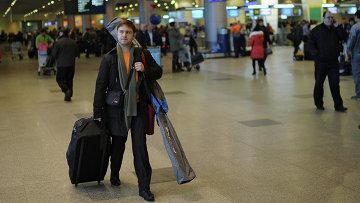 Работа аэропорта Домодедово, архивное фото