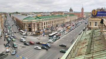 Вид Петербурга. Архивное фото