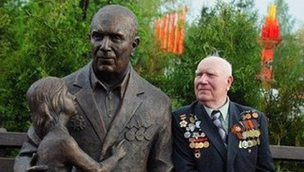 Рядовой Иван Степанович Одарченко, ставший прототипом знаменитого монумента Воину-освободителю