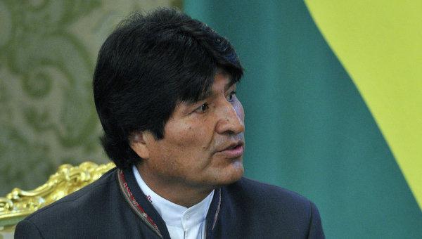 Президент Боливии Эво Моралес Айма, архивное фото