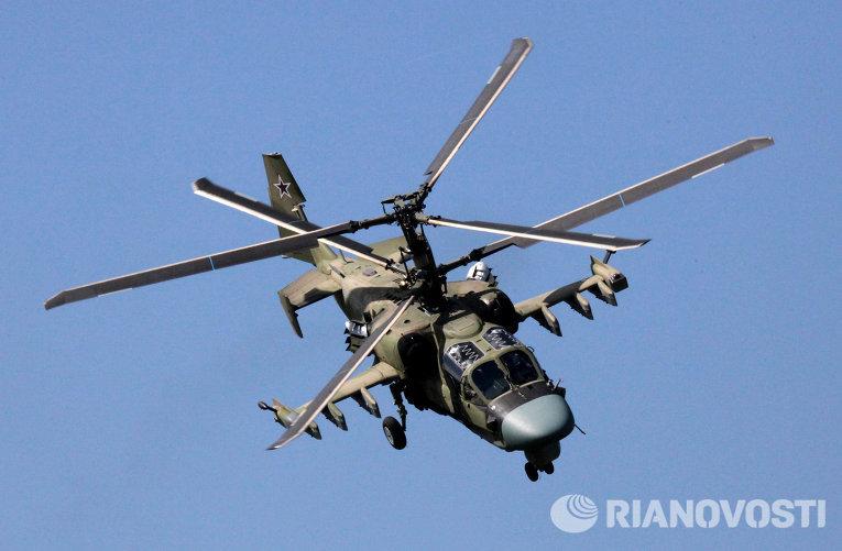 Вертолет Ка-52 Аллигатор
