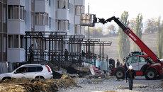 Новый высотный дом в микрорайоне Надежда города Крымска. Архивное фото