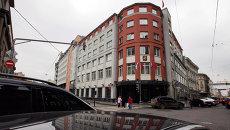 Здание Московской Городской Думы на улице Петровка. Архивное фото