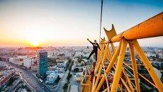 Фото с крыш Новосибирска