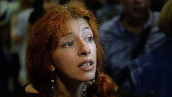 Правозащитница Татьяна Локшина, архивное фото