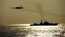 Военные учения Тихоокеанского флота с применением авиации. Архивное фото