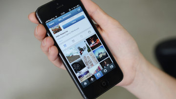 Instagram. Архивное фото.