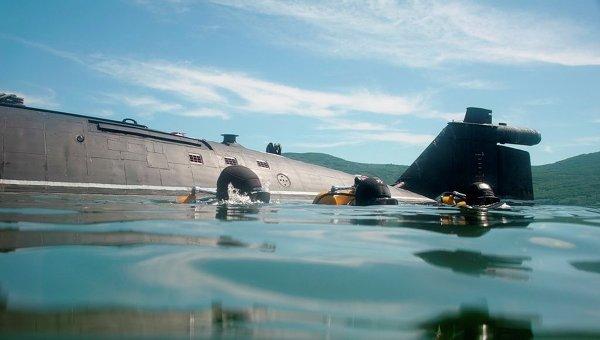Учения боевых пловцов ТОФ