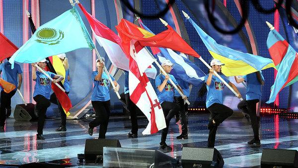 Открытие конкурса Новая волна 2013 в Юрмале