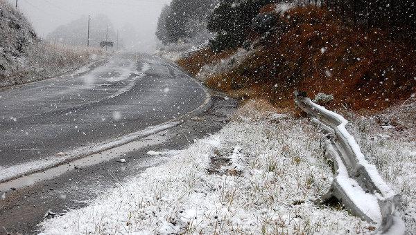 Снег в Бразилии. Архив