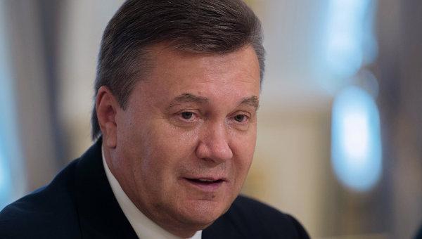 Бывший президент Украины Виктор Янукович. Архивное фото.