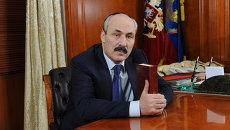 Глава Республики Дагестан Рамазан Абдулатипов . Архивное фото