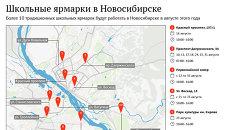 Школьные ярмарки в Новосибирске