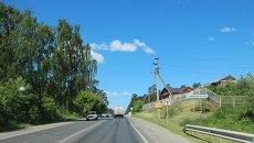 Дорога в село. Архивное фото
