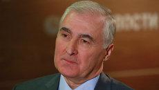 Президент Южной Осетии Леонид Тибилов. Архивное фото