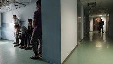 Центр содержания мигрантов. Архивное фото