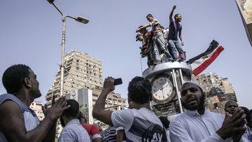 Акции протеста в Каире