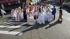 Нашествие невест в Томске