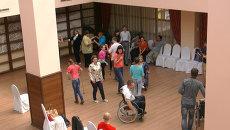 Томичи-инвалиды исполнили трюки на колясках на кастинге в школу танцев
