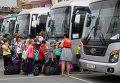Первая группа детей из Приамурья прибыла на отдых во Владивосток