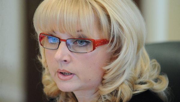 Министр Татьяна Голикова. Архив