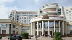 Учебный корпус МГУ. Архивное фото