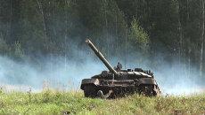 Новосибирские курсанты закидали гранатами вражеские танки