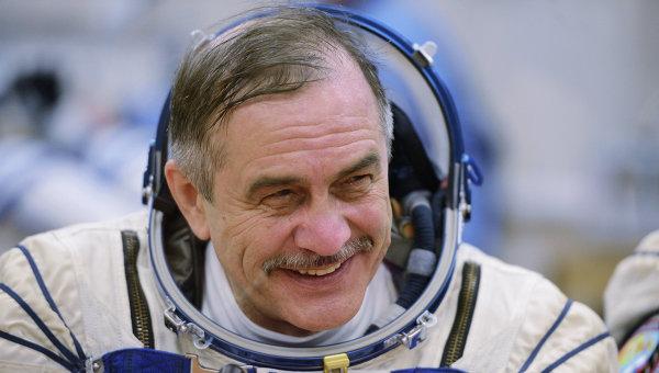 Космонавт Павел Виноградов. Архивное фото