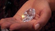 Самый крупный в мире бриллиант размером с яйцо показали в Нью-Йорке