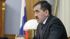 Президент Ингушетии Юнус-Бек Евкуров. Архивное фото