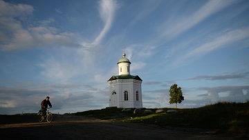 Константиновская часовня на Соловецком острове в Архангельской области. Архивное фото