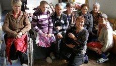 Бездомные в приюте в Приморье
