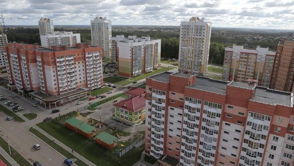 Микрорайон Зеленые горки в Томске, событийное фото.